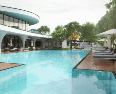 Luxury villas in Financial District near Wipro Circle.
