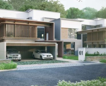 villas in Financial district, Gachibowli. The project spread over on 17 acres with luxury amenities, club house, swimming pool, indoor & outdoor games etc.,