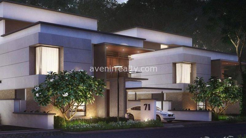 Myscape Courtyard villas in Financial District, Gachibowli, Hyderabad