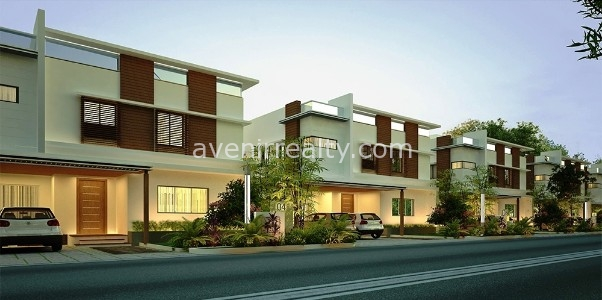Urban villas in Gandipet, Kokapet, Brochure, Floor Plans