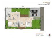 urban villas floor plan east facing
