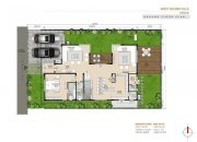 Urban villas ground floor plan