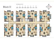 Greenmark galaxy apartments d block floor plan