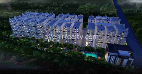 Galaxy Apartments at Kondapur, Gated community residential flats