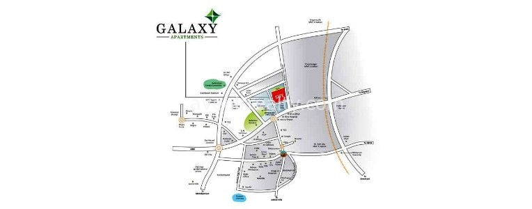 2 bhk flat for sale in galaxy apartments