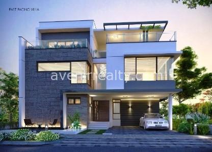 Spring Valley villas in Manikonda, Gachibowli, Hyderabad